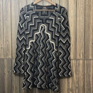 Free People Rhiannon Chevron Wool Dress